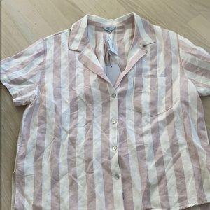 Rails striped shirt.